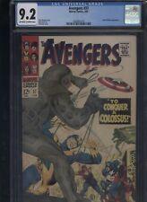 Avengers #37 CGC 9.2 Gil Kane ROY THOMAS Don Heck 1967 BLACK WIDOW