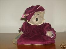 "Boyds Bears 10"" Dressed Plush Bear Auntie Iola"
