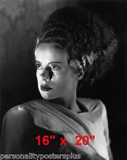 "Bride of Frankenstein~Elsa Lanchester~Horror~Photo~CU#2~ Poster 16"" x  20"""
