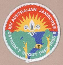 AJ1985 - AUSTRALIA SCOUTS NATIONAL JAMBOREE - OFFICIAL PARTICIPANTS SCOUT PATCH