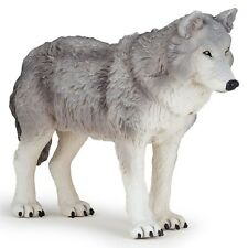 Large GREY WOLF Replica # 50211 ~ FREE SHIP/USA w/ $25.+ Papo Products