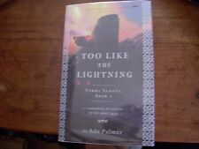 Too Like the Lightning by Ada Palmer. Signed, limited UK first edition 1/1