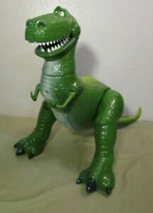 Disney Store TOY STORY Interactive Talking Rex Action Figure Tested Works