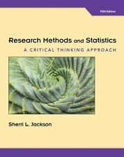 Research Methods and Statistics : A Critical Thinking Approach (US HARDCOVER 5E)