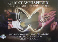 Ghost Whisperer Seasons 3 & 4 Case Topper Prop Card CT Tooth