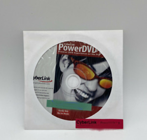 CyberLink PowerDVD 5 for Windows - New - Comes With Product Key - CD