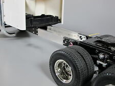 Aluminum add-on 3 inch Frame Extension Tamiya RC 1/14 King Hauler Knight Semi