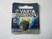 5x cr2025 pile bouton lithium cr2025 3v 170mah varta ar1162