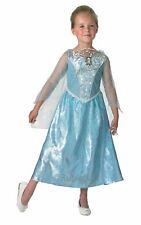 Frozen Musical Costume Disney Princess Fancy Dress Light Up Elsa Outfit 7-8 yrs