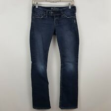 Silver Tuesday 16 1/2 Boot Cut Women's Dark Wash Blue Jeans Size 25 x 31