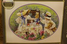 """Counted Cross stitch kit """" Afternoon tea """" -Dimensions 35152 NEW"""