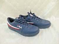 Fila Vulc 13 Low Men's Sneaker Navy Blue Size 11.5 Lace-up Shoes F-13 V Low Tops