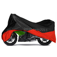 XL Red Motorcycle Cover For Honda CBR 600 f4 f4i 900 929 954 1000 RR CBR1100XX