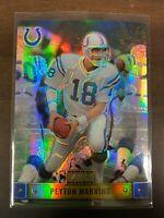 2000 Bowman Reserve Football Card #78 Peyton Manning Indianapolis Colts