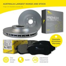 Holden COMMODORE VR & VS IRS 1993 - 97 Front Brake Pads and Rotors Set