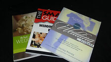 Wonderful Wedding Planning Books (A Collection of 3)