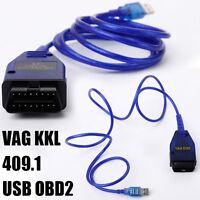 USB VAG KKL K409 16Pol OBD2 OBDII Diagnosegerät für VW Audi Seat Skoda Auto