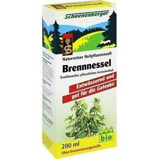BRENNESSELSAFT Schoenenberger 200ml PZN 692096