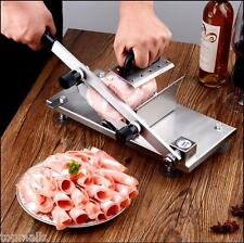 St208B Manual Stainless Steel Frozen Meat Slicer  00004000 Beef Slicing Machine