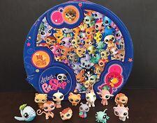 LPS Littlest Pet Shop Hat Box 12 Pet Set #1664 65 66 67 68 69 70 71 72 73 74 75