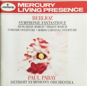Berlioz: Symphonie Fantastuque. Paul Paray. Detroit SO. MINT. FAST POST