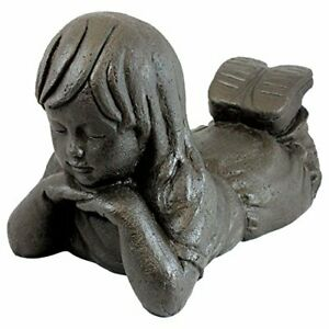 Emsco Group 92248 Day Dreaming Girl Statue – Natural Appearance – Made of Res...