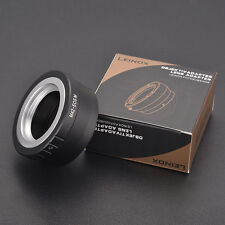 LEINOX M42-EOS M Lens Adapter Ring for M42 Lens to Canon EOS M camera