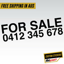 FOR SALE LARGE CAR STICKER DECAL Custom Vinyl Decal Business Sticker #0532