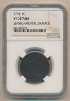 1794 Flowing Hair Large Cent. NGC VF Details