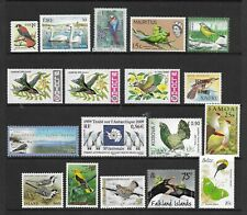 BIRDS . nice page of issues  MINT NH