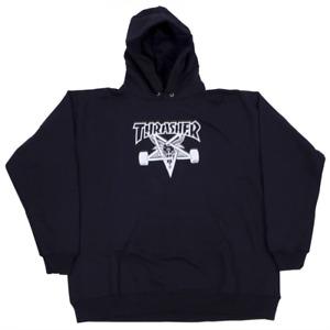 Genuine Thrasher Skate Goat Pullover Hoodie - Black