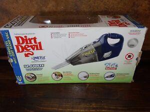 19374 NEW Dirt Devil  Kinetix Wet  / Dry Cordless Hand Cleaner - NIB