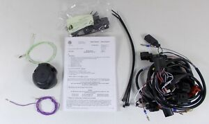 NEW GENUINE VW BEETLE LEFT HAND DRIVE 13 PIN TOWBAR TOWING ELECTRICS WIRING KIT
