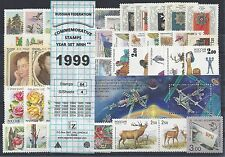 RUSSIA 1999 COMMEMORATIVE YEAR SET MNH (see two scans)