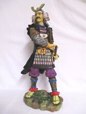 Samurai Schwert Kämpfer Krieger 53 cm Poly Figur stehend China Asien Statue