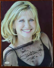 Olivia Newton John JSA Coa Signed 11x14 Photo Autograph