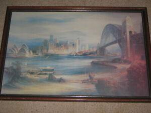Sydney Harbour Bridge Opera House City From Kirribilli House by Kenneth Jack