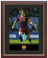 Carles Puyol Mounted Framed & Glazed Memorabilia Gift Football Soccer