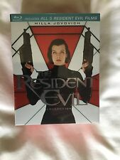 The Resident Evil Collection - 5 Movie Collection - New And Sealed!