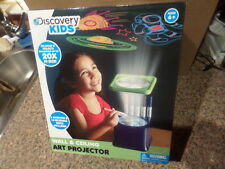 Discovery Kids Wall and Ceiling Art Projector w/Markers & Discs NIB MSRP $19.99