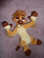"Lion King Timon Meerkat Disney 8"" Stuffed Plush Rubber Vinyl Head"