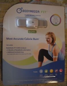 """NEW ~ BODYMEDIA FIT     """"Most Accurate Calorie Burn""""    ON-BODY WELLNESS MONITOR"""