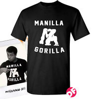 Muhammad Ali Manilla Gorilla rare ALI T-shirt Retro Men+Kids Tshirt NEW