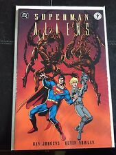 Superman Aliens Book 2 DC Dark Horse Graphic Novel Dan Jurgens Kevin Nowlan