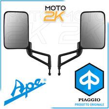 COPPIA SPECCHIO SPECCHIETTO DX + SX RETROVISORE ORIGINALE PIAGGIO APE TM 703