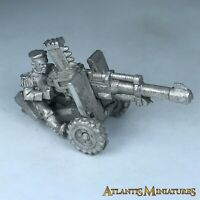 Metal Mordian Autocannon Support Weapon Imperial Guard - Warhammer 40K X2463