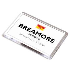 FRIDGE MAGNET - Breamore, Hampshire - Lat/Long SU1518
