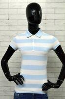 Polo TOMMY HILFIGER Donna Taglia Size S Maglia Slim Fit Manica Corta Shirt Woman
