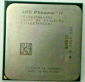AMD Phenom II X4 965 HDZ965FBK4DGI - 4x 3,40GHz - Sockel AM3 #200