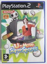 COMPLET jeu U-MOVE SUPER SPORTS sur playstation 2 PS2 en francais juego gioco